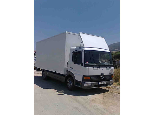 ΜΕΤΑΦΟΡΙΚΗ ΠΑΤΡΑΣ: Φορτηγό μετακομίσεων