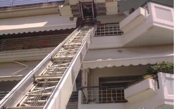 ΜΕΤΑΦΟΡΙΚΗ ΠΑΤΡΑΣ: Εξωτερικός Ανελκυστήρας μετακομίσεων